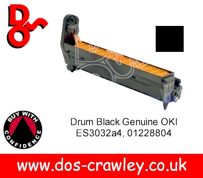 Drum Black (EP Cartridge) Genuine OKI ES3032a4 - 01228804