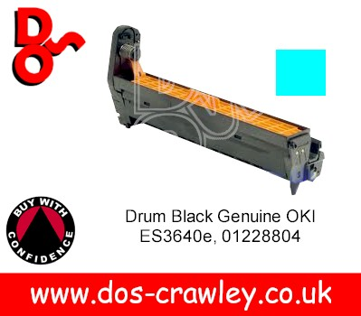 Drum Cyan (EP Cartridge) Genuine OKI ES3032a4 - 01228803