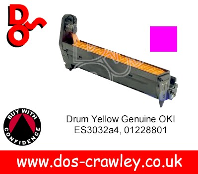 Drum Yellow (EP Cartridge) Genuine Oki ES3032 - 01228801