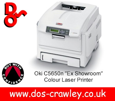 "# OKI C5650n ""Showroom Model"" Colour Laser Printer"