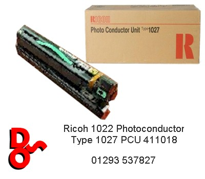 Ricoh 1022 Photoconductor Type 1027 PCU 411018 (R)