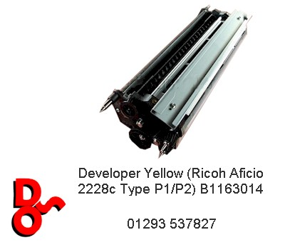 Ricoh 2228 Developer Yellow Unit B1163014