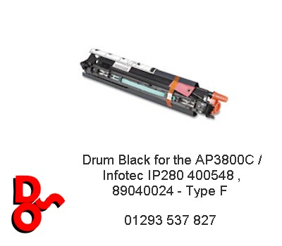 Drum Black for the AP3800C / Infotec IP280 400548 , 89040024