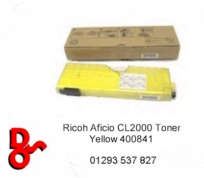 Ricoh Aficio CL2000 Toner Yellow 400841