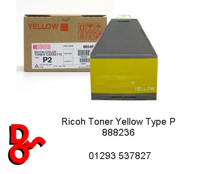 Ricoh Toner Yellow Type P 888236