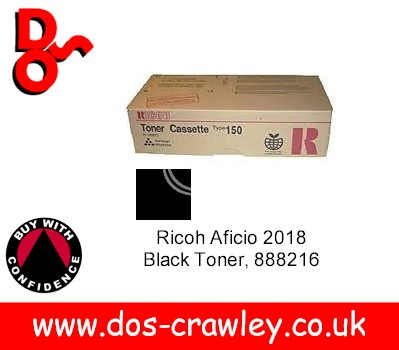 Toner Black Ricoh FT3613 - 88598012