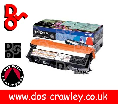 Toner Black, High Capacity, Genuine Brother - TN325BK, TN-325BK