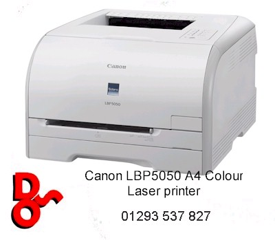 # Canon i-SENSYS LBP5050 Series A4 Colour Laser Printer