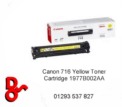 Canon Toner Cartridge 716 Black 1980B002AA