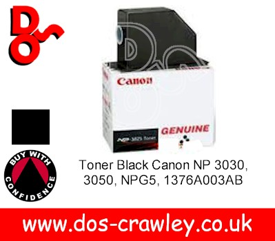 Toner Black Genuine Canon NP 3825, 6825 - 1370A002AA