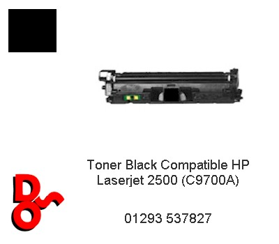 Toner Black Compatible HP Laserjet 2550 (C9700A)