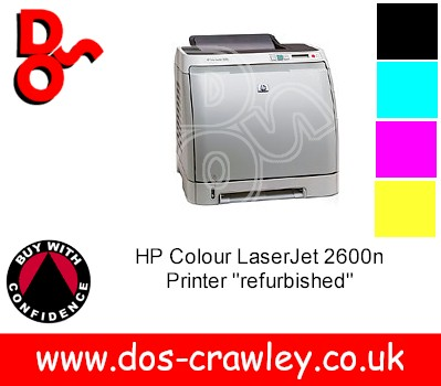 # HP Colour LaserJet 2600n Printer
