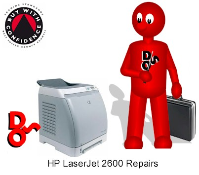 # HP Laserjet 2600 Printer Repair Crawley, West Sussex & Surrey