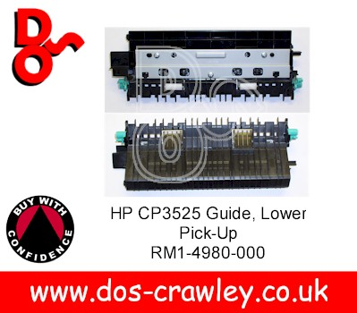 PF Lower Pick Up Guide Assy HP CP3525, RM1-4980-000