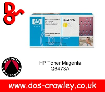 Toner Yellow HP 3600 Q6472A