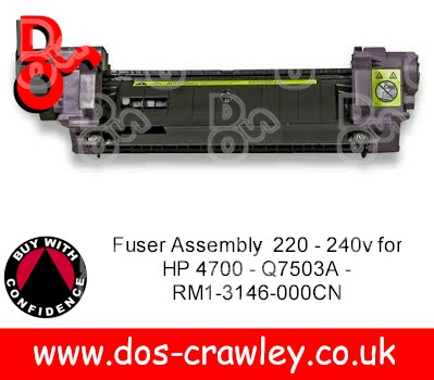 Fuser Assembly 220 - 240v for HP 4700 - Q7503A - RM1-3146-000CN