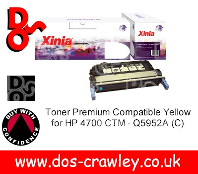 Toner Premium Compatible Black for HP 4700 CTM - Q5950A (C)