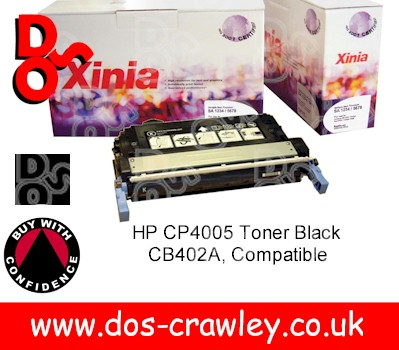 Toner Premium Compatible Black for Colour CP4005 - CB400A