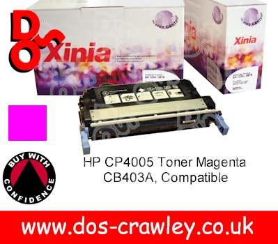 Toner Premium Compatible Magenta for HP CP4005 - CB403A