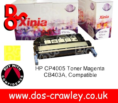 Toner Premium Compatible Yellow for HP CP4005 - CB402A