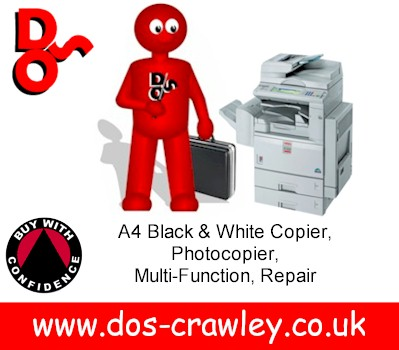 A4 Black and White Copier, MFC Repair West Sussex & Surrey