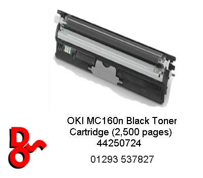 OKI Toner Cartridge Black (2,500 pages) 44250724