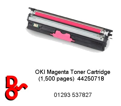 Toner Magenta Compatible for OKI C110, 130, 160 - 44250718