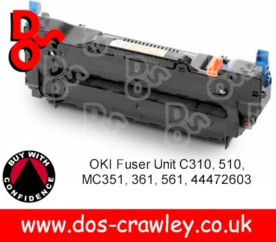 Fuser Unit Genuine OKI C310 - 44472603