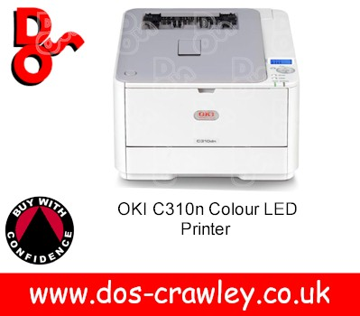# OKI C310n Colour LED Printer, 01279801