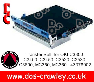 Transfer Belt for OKI C3300 - 43378002