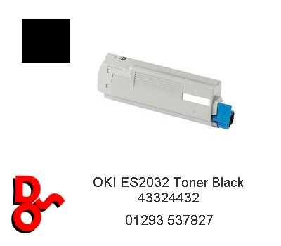 OKI ES2032 Toner Black Cartridge 43324432