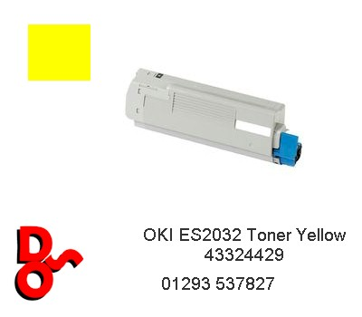 OKI ES2032 Toner Yellow Cartridge 43324429