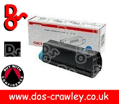 Toner Black Genuine OKI ES2426 - 41963076