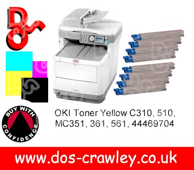 # Oki MC360 MFC Print, Copy, Fax, Scan + 2 sets of toner
