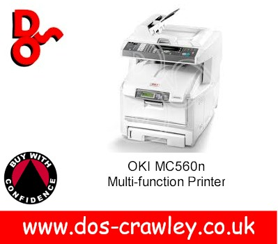 "OKI MC560dn Multi-function Printer ""Refurbished"""