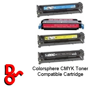 Toner Cartridges (Rainbow) CMYK HP CP1215 (Compatible)