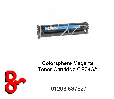 Toner Cartridge Cyan HP CB541A (Compatible)