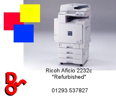 "Ricoh Aficio 2232c ""Refurbished"""