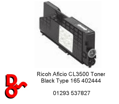 Ricoh Aficio CL3500 Toner Yellow Type 165 402447