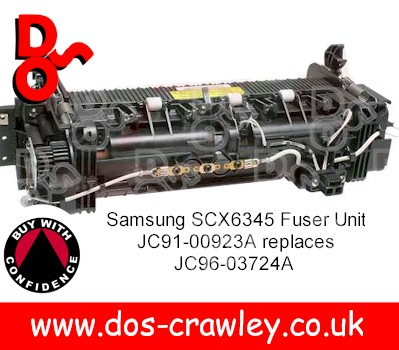Fuser Unit 220v Samsung SCX6345 JC91-00923A replaces JC96-03724A