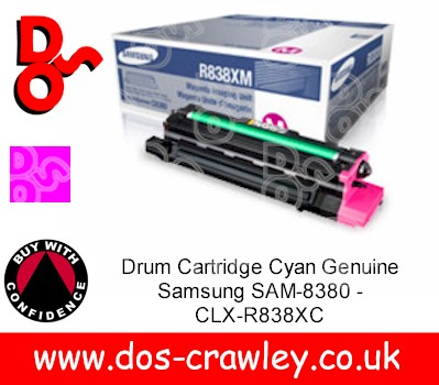 Drum Cartridge Magenta Genuine Samsung SAM-8380 - CLX-R838XM